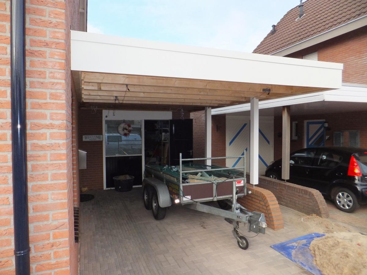 Carport Aanbouwen In Losser Klussenbedrijf Mk Bouw